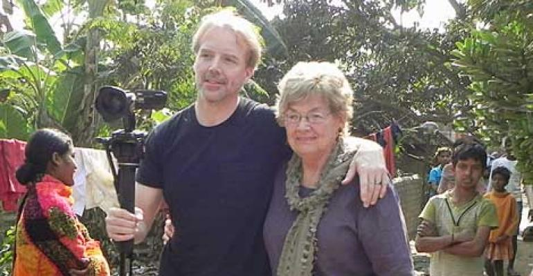 Dean Nelson Teams With Mom to Build Schools in India