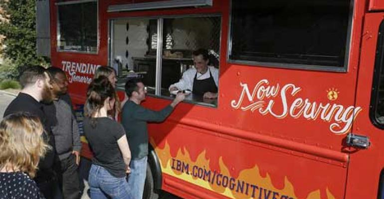 IBM Watson Supercomputer Powers Food Truck at SXSW