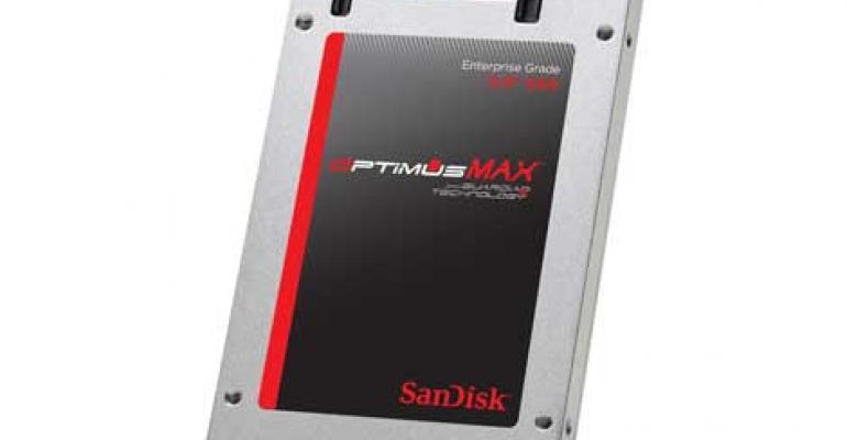 SanDisk Unveils 4TB Enterprise SAS SSD