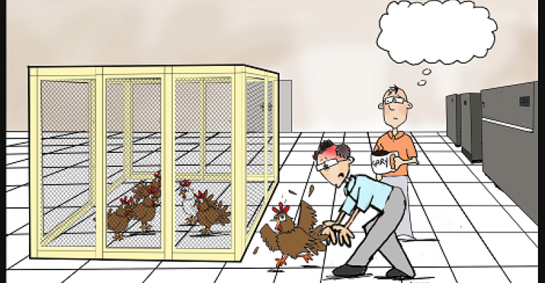 "Friday Funny: Pick the Best Caption for ""Chicken Coop"""