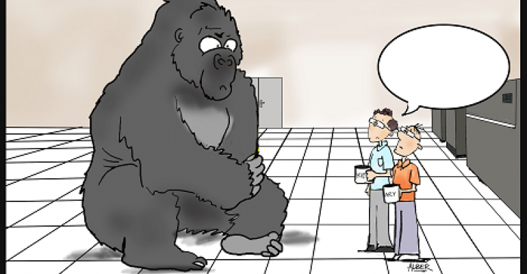 Friday Funny Caption Contest: 300 Pound Gorilla