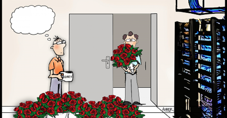 Friday Funny Caption Contest: Roses