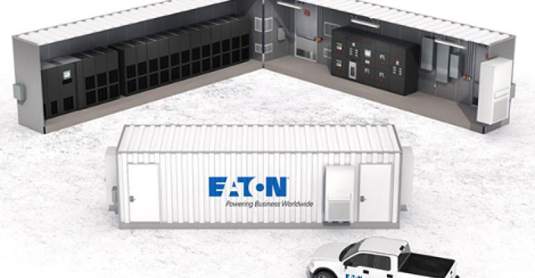Eaton Packages Data Center Power Gear in Containers