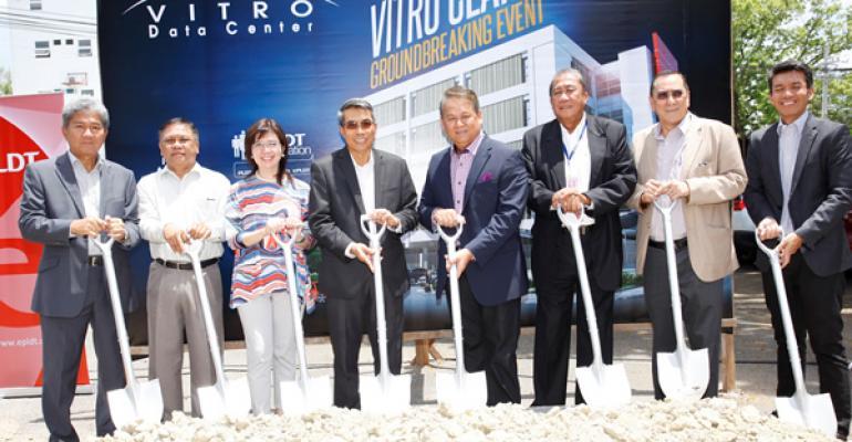 PLDT Building Eighth Philippines Data Center for $29M