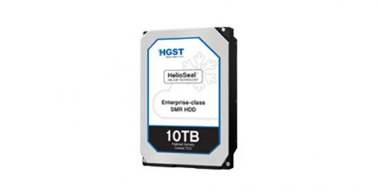 HGST Launches 10TB Drive for Users With Deep Archive Needs