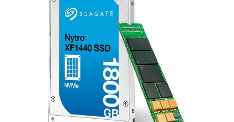Seagate Unveils SSDs for HPC Storage