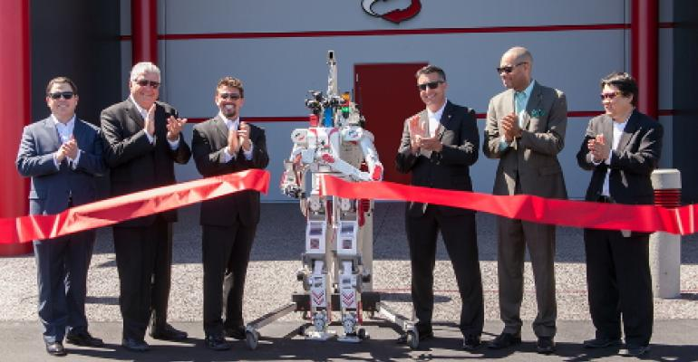 Metal Rebel the Robot Opens Switch's Latest Huge Las Vegas Data Center