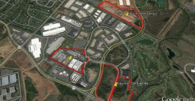 Equinix Heats Up Data Center Alley's Landgrab Rush