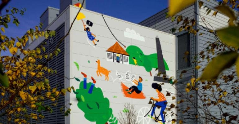 Free Cooling Inspires Google Data Center Murals in Dublin