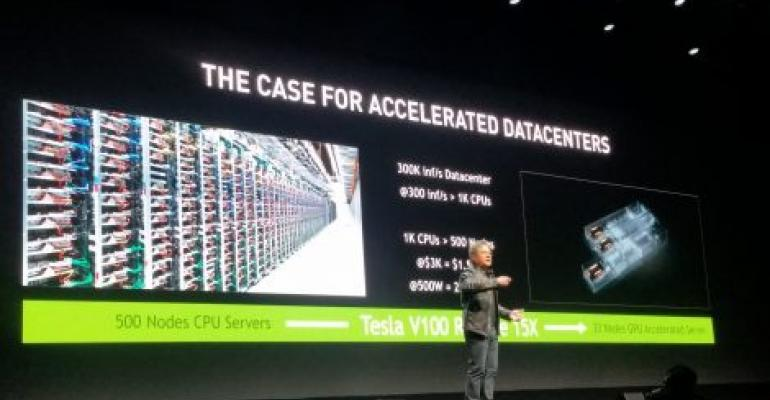 "NVIDIA CEO: AI Workloads Will ""Flood"" Data Centers"