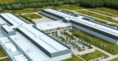 Rendering of the future Facebook data center in Huntsville, Alabama