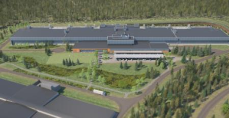 The Facebook data center in Luleå, Sweden