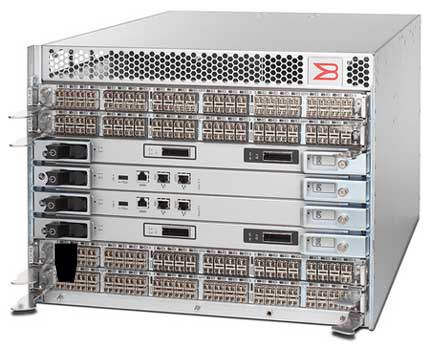 The Brocade DCX-4S Backbone, which is launching today.