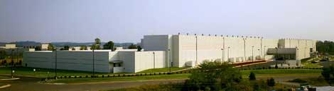 Rackspace Hosting has leased space in this DuPont Fabros Technology data center facility in Virginia.