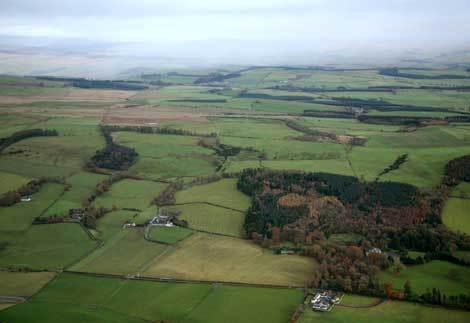 This farmland near Lockerbie, Scotland could be one of the world's largest data center developments.