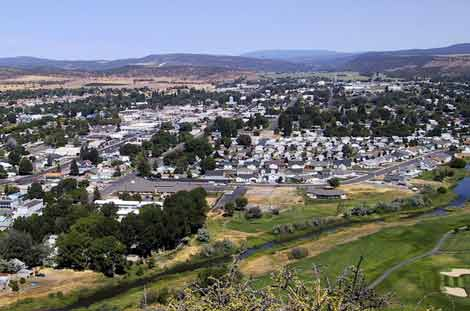The city of Prineville, Oregon is negotiating with a large, secretive company that wants to build a data center in its enterprise zone.