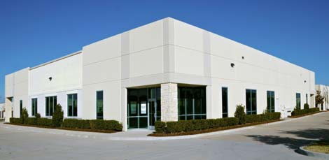 The exterior of the new Stream Data Centers facility in Richardson, Texas.