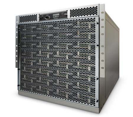 The SM-10000 server from startup SeaMicro, which can pack 2,048 CPUs into a rack.