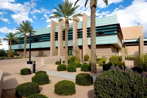 The Digital Realty Trust data center in Chandler, Arizona.