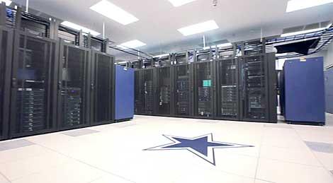 The Data Center Powering The Super Bowl Data Center