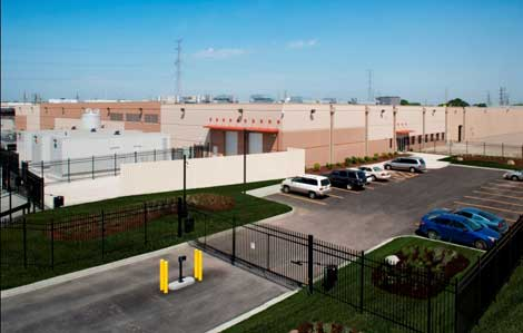 The Ascent CH2 data center in suburban Chicago. (Credit: Tara Wujcik).