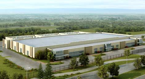 The new Stream Data Centers private data center property in Richardson, Texas.