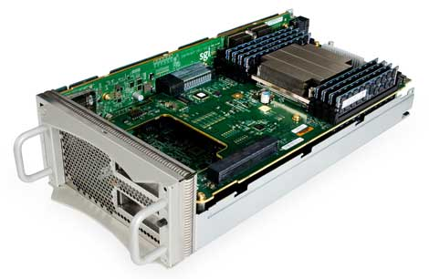 One of the compute blades for the SGI UV 2000 (Photo: SGI)