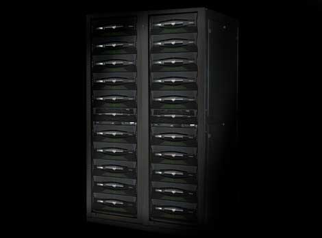 Amazon is among the customers for SGI's Infinite Storage. Some units are shown above.