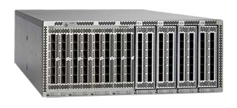 The Nexus 6004 is Cisco's highest density 40 Gigabit Layer 2/Layer 3 fixed switch. (Photo: Cisco Systems)