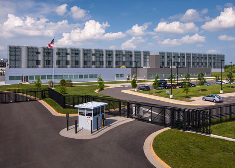 The COPT DC-6 data center in Manassas, Virginia. (Photo: COPT)