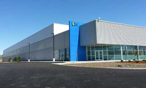 The exterior of the first Vantage data center in Quincy, Washington. New CEO Sureel Choksi said Vantage is focusing on boosting its sales and marketing efforts. (Photo: Vantage)
