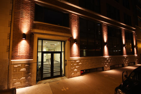 The exterior of the Digital Capital data center in Chicago's South Loop. (Photo: Digital Capital)