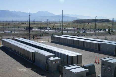 Bloom Energy Server fuel cells at the new eBay data center in Utah. (Photo: eBay)