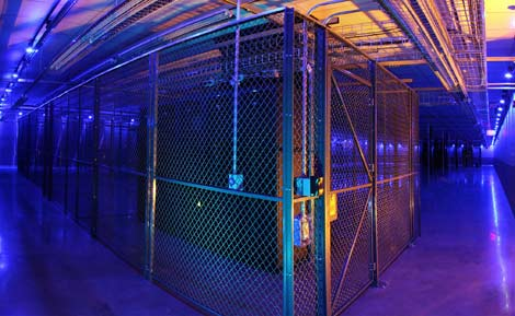 Colocation cages inside a Net Access data center in New Jersey. (Photo: Net Access)