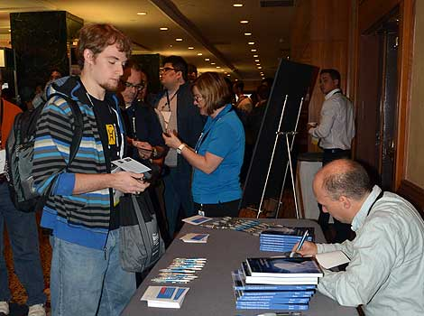 O'Reilly Media continues to publish popular technical books in addition to coordinating conferences. The book signing for