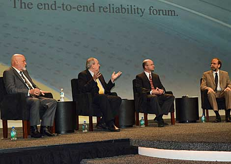 "A panel titled, ""The Power of Data in Data Center Operations"