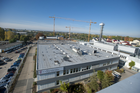 T-Systems' Magdeburg, Germany, data center - a twin site to the company's data center in nearby Biere. (Photo: T-Systems)