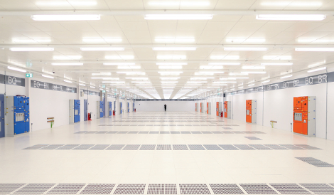 Digital Realty's 100,000-square-foot data center in Dublin's Profile Park. (Photo: Digital Realty Trust)