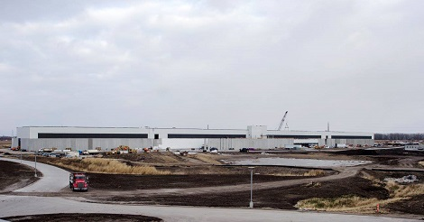 Facebook's Altoona data center - building two. (Photo: @2014 Jacob Sharp Photography)
