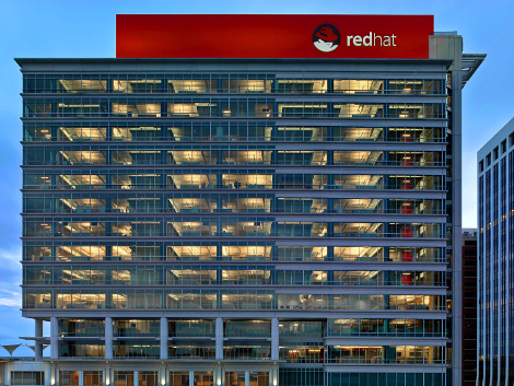 Red Hat corporate headquarters in Raleigh, North Carolina (Photo: Red Hat)