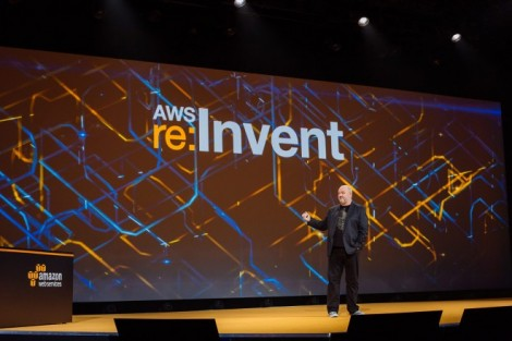 Werner Vogels, CTO, Amazon, speaking at AWS re:Invent 2015 in Las Vegas (Photo: AWS)