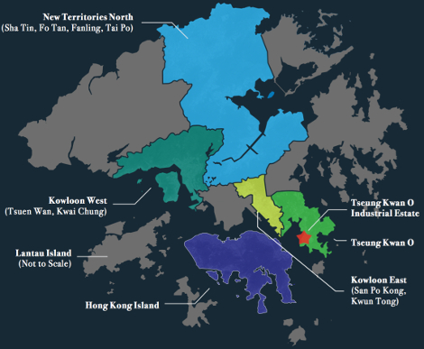 Hong Kong sub-regions Structure Research