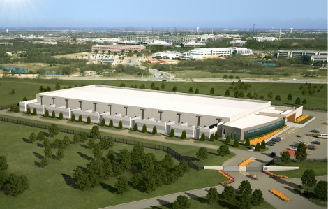 Rendering of the future Plano data center by Skybox (Photo: Skybox)