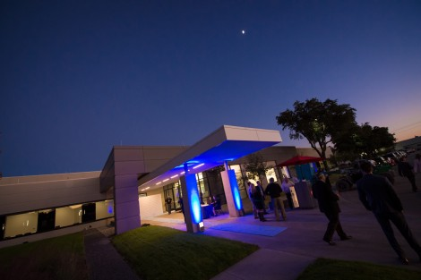 Entrance to the data center in Plano, Texas, operated by Aligned Data Centers (Photo: Aligned Data Centers)