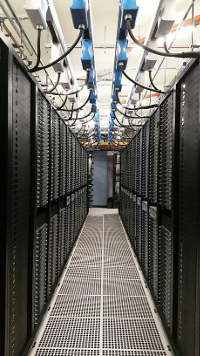 LinkedIn's Singapore data center (Photo: LinkedIn)