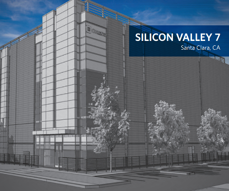 Rendering of CoreSite's SV7 data center in Santa Clara, California (Image: CoreSite)