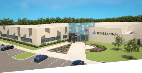 Rendering of Iron Mountain's future 60MW data center campus in Manassas, Virginia (Image: Iron Mountain)